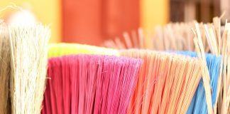 spring clean broom