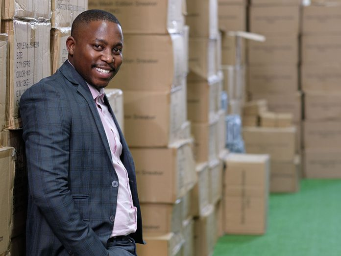 Theo_Baloyi Entrepreneur of the Year® competition