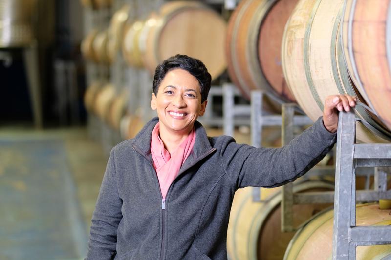 Winner: Small Business Entrepreneur of the Year, Carmen Stevens, founder and owner of Carmen Stevens Wines.