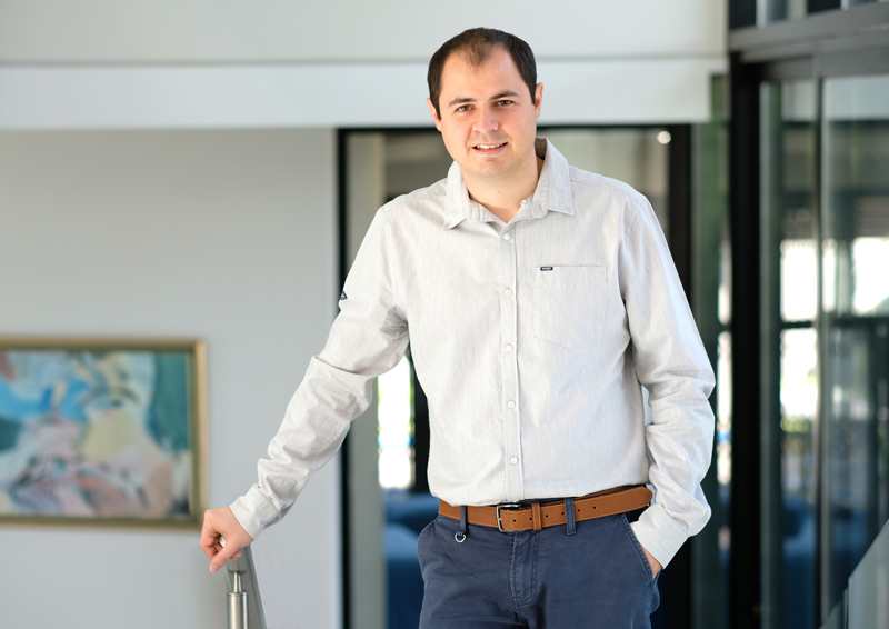 Winner: 2 Innovator of the Year®: Wynand Geldenhuys, founder and owner of Vectra.