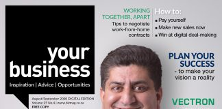 Your Business Magazine AugustSeptember 2020 isue