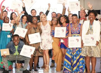 Winners of the 2019 SAB Foundation Social Innovation and Disability Empowerment Awards.