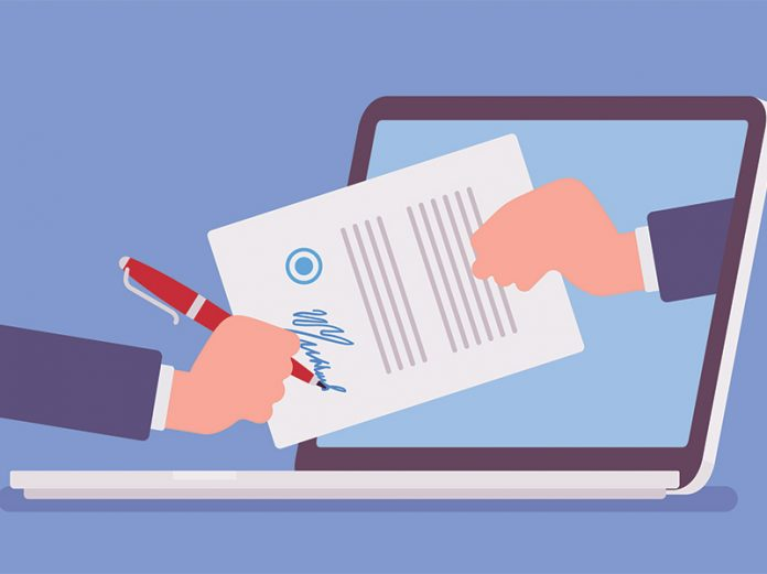 online legal contracts