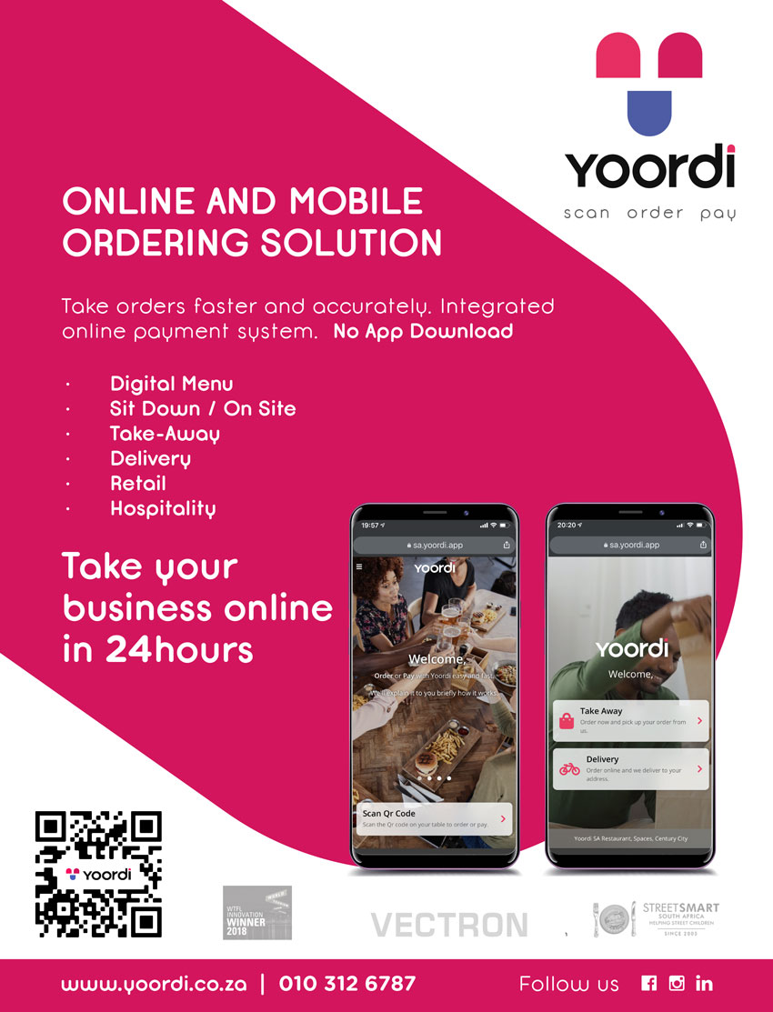 Yoordi online and mobile ordering solutions