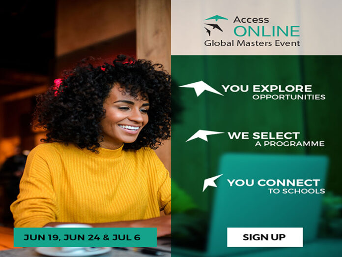 Access Online Masters event